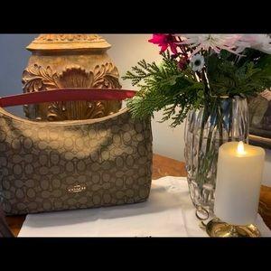Authentic Hobo Signature Jacquard Shoulder Bag